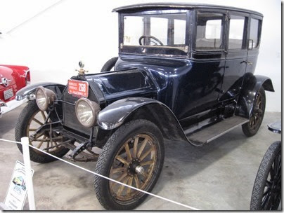 Classic Cars in the Northwest Vintage Car & Motorcycle Museum at the