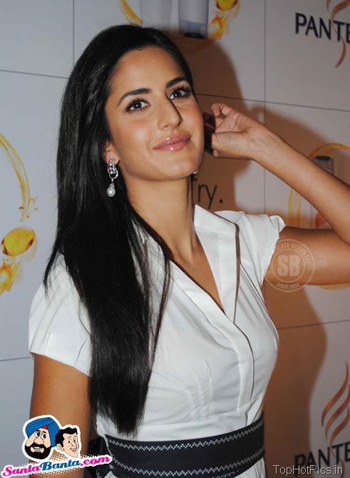 Katrina Kaif Hot Stills in White Stylish Dress 6