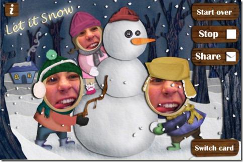 hacer postales de navidad divertidas: