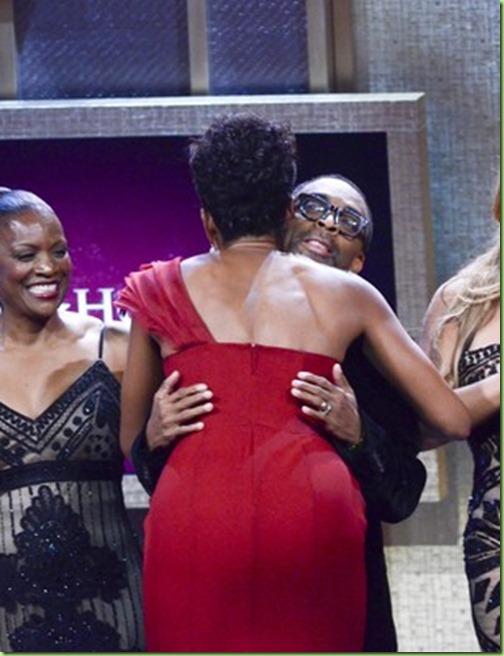 mo Beverly Kearney, Michelle Obama, Mariah Carey, Spike Lee and Stevie Wonder