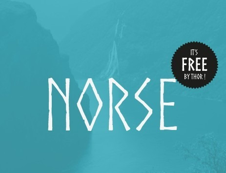 Norse-free-font