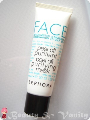 Sephora Peel Off Purifying Mask