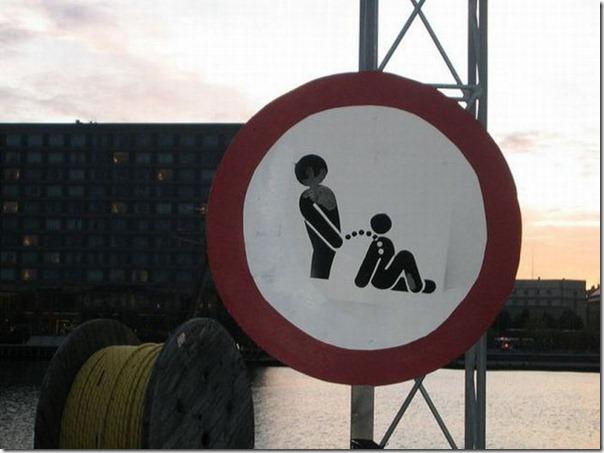 Permitido urinar em pessoas sentadas
