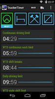 Screenshot of TruckerTimer