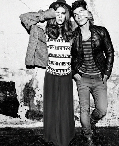 Beegee + Sam Way by Txema Yeste for Pull & Bear F/W 2011