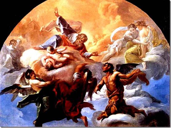 God Kicks Satan out of Heaven