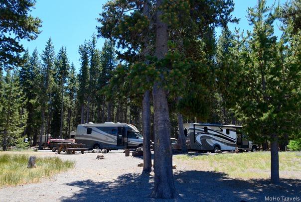 beach camping at East Lake