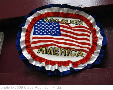 'God Bless America' photo (c) 2009, Clyde Robinson - license: http://creativecommons.org/licenses/by/2.0/