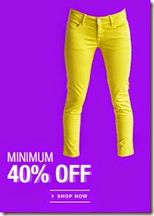 Flipkart: Women's Trouser, Capri, jeans offer Minimum 40% off
