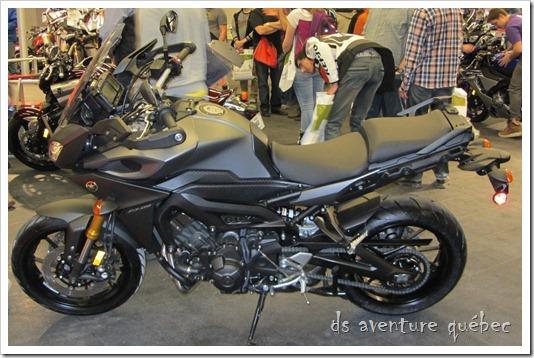Salon Moto Montreal 2015 - Yamaha FJ09