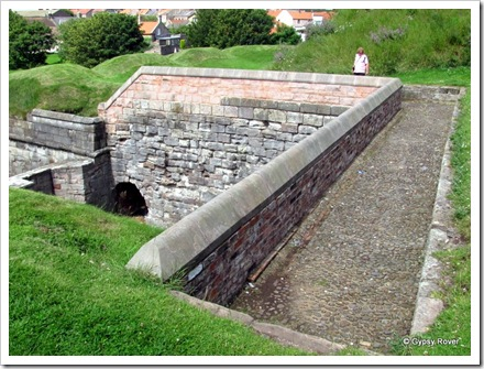 How the ramparts looked in the 16th century.