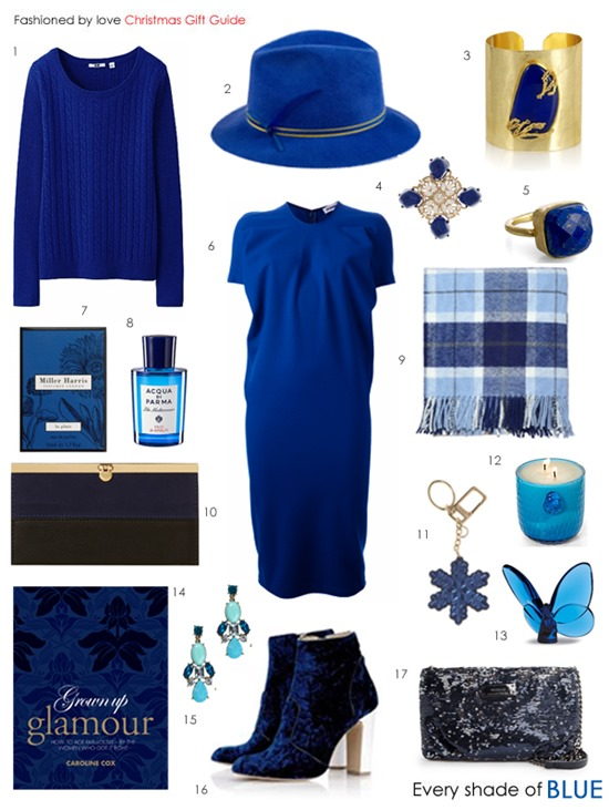 christmas gift guide blue all budgets