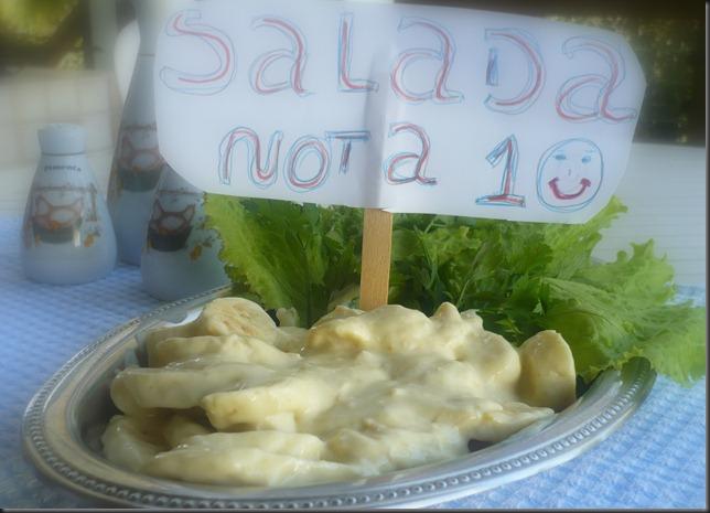 salada de banana  - Delícias Frugais