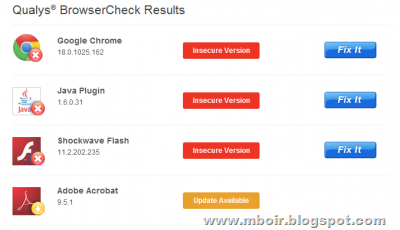 BrowserCheck - mboir