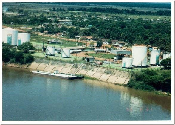 il porto di Caracaraì