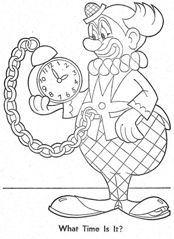 palhaço-colorir-Clowns To Color-coloring page-00030