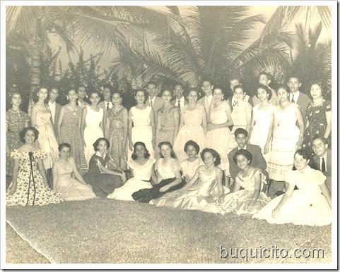 Mayo 21 1955 - LV Cocktail Milagros Jiménez Country