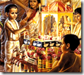 [Prabhupada as child performing Ratha-Yatra]