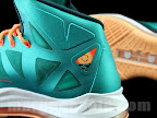 nike lebron 10 gr miami dolphins 1 05 Gallery: Nike LeBron X Miami Setting or Dolphins if you Like