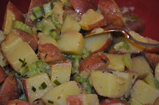 Potatoes Vinaigrette - one of my fave EDF recipes