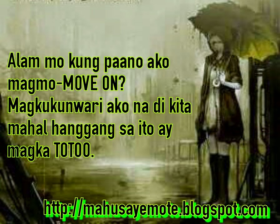 how to move on quotes tagalog