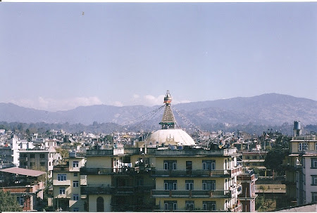 Sights of Nepal: The stupa at the Bouddha