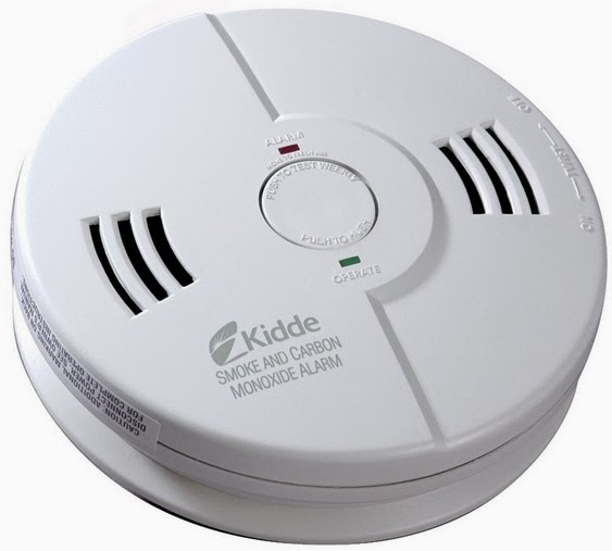 smoke and CO detector
