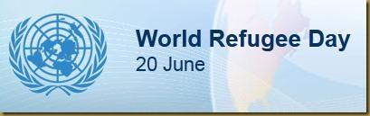 Η 20 Ιουνίου κάθε χρόνο έχει καθιερωθεί από τον Οργανισμό Ηνωμένων Εθνών ως ΠΑΓΚΟΣΜΙΑ ΗΜΕΡΑ ΤΩΝ ΠΡΟΣΦΥΓΩΝ World Reguge Day.