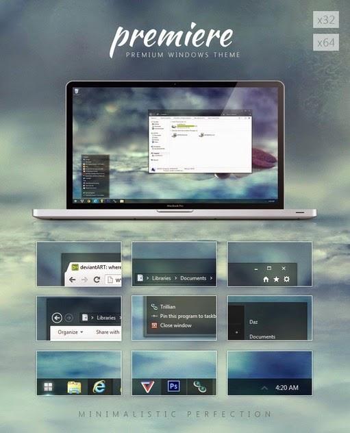 premiere windows 7 theme
