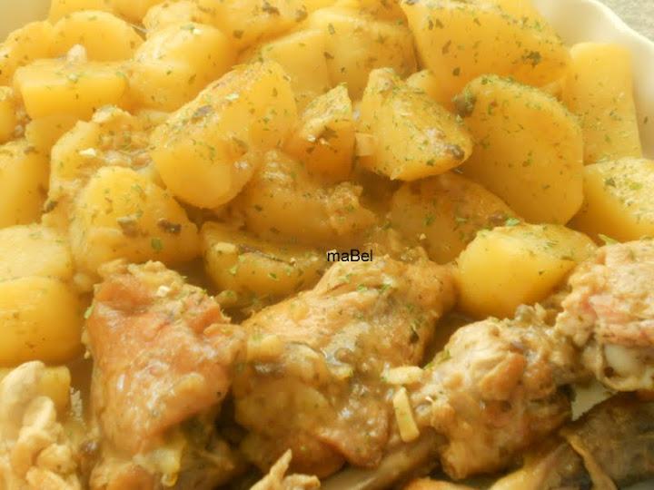 Pollo a la Cacerola Receta Mexicana Pollo a la Cacerola Con