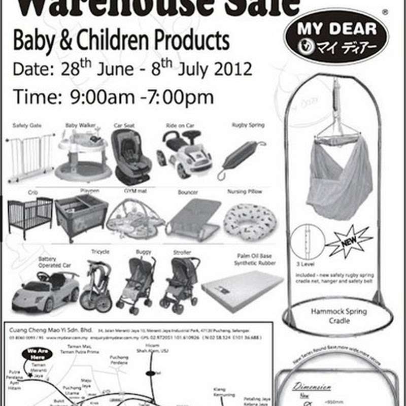 Warehouse sale ! Baby & Children Products