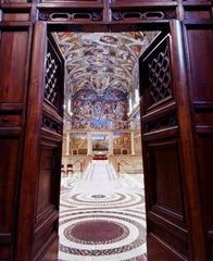 Porta Cappella Sistina