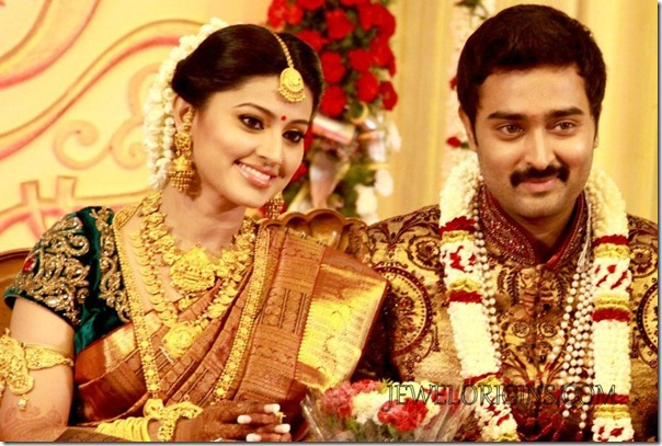 Sneha and Prasanna Wedding Reception Photos
