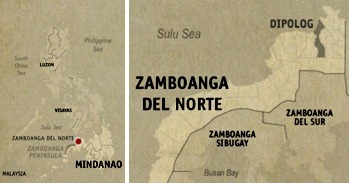 Dipolog Location Map