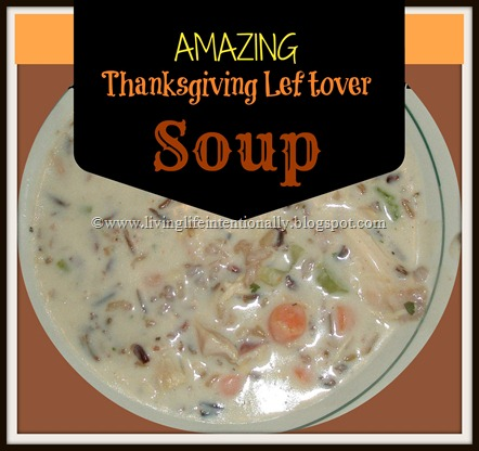 This recipe is a delicious way to use up leftover Thanksgiving turkey #recipes #thanksgiving #soup