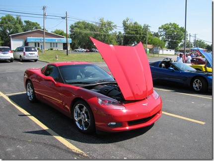 Red CorvetteatJJ's08-25-13a