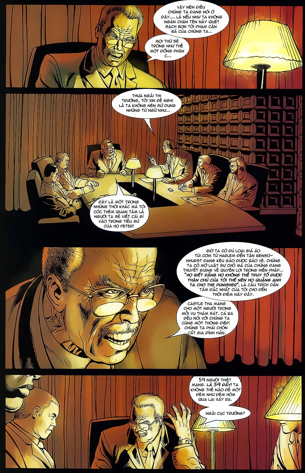 The Punisher: Trên là Dưới & Trắng là Đen chap 4 - Trang 13