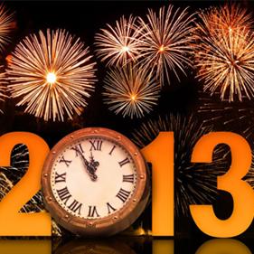 ¡¡Feliz 2013!!