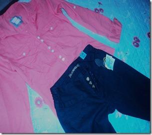 conjunto -calça -blusa