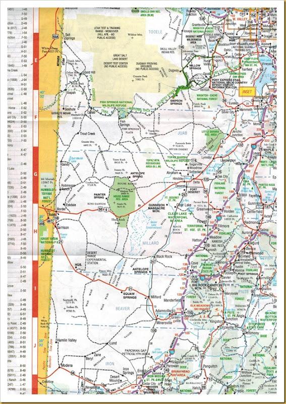 West Desert Map