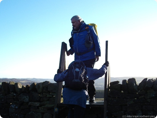 ascending the stile (without oxygen)