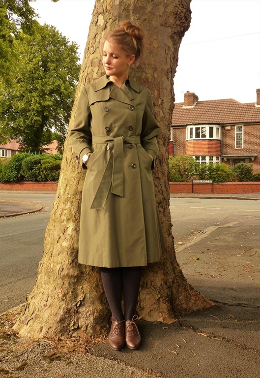 Aquascutum Trench Coat, £125, Show Us Your Threads