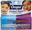 Baby Orajel Regular Formula & Nighttime Formula Gel D1