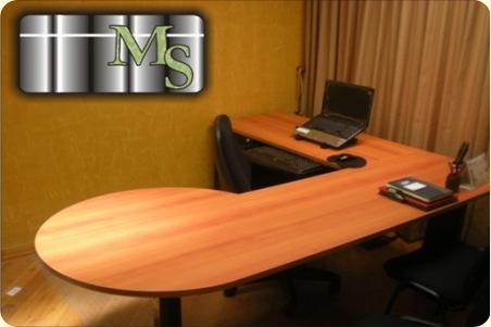 Escritorios de madera para oficinas decoraci n de for Escritorios de madera para oficina