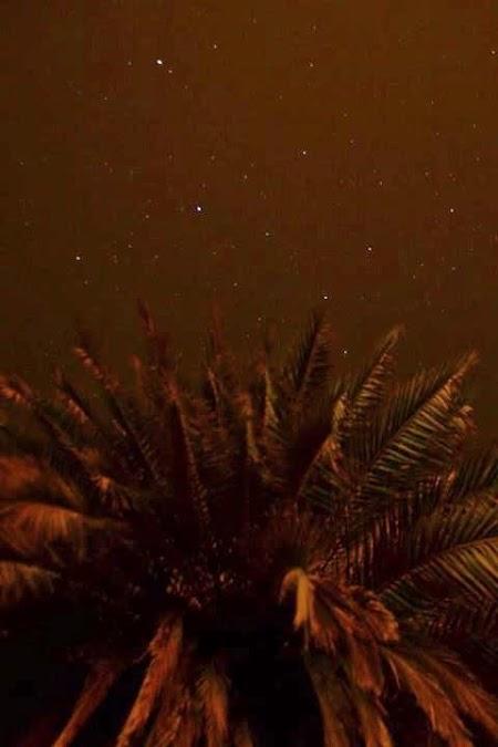Cer cu stele in Huacachina