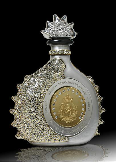 World's Top 10 Most Expensive Liquors: Courvoisier L'Esprit Decanter, Jenssen Arcana, Hine Triomphe Talent De Thomas Hine Crystal Decanter, Frapin Cuvée 1888, Martell Creation Cognac In Handcarved Baccarat Decanter,Henri IV, Cognac Grande C