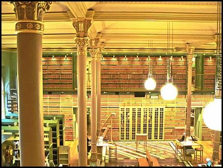 Bibliothèque Riksdagen, suédois Parlement Bibliothèque, Stockholm, Suède