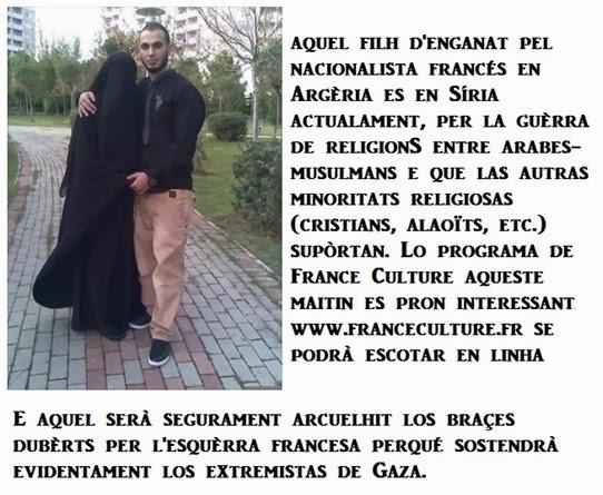 fòto de l'extremisme fabricat en França