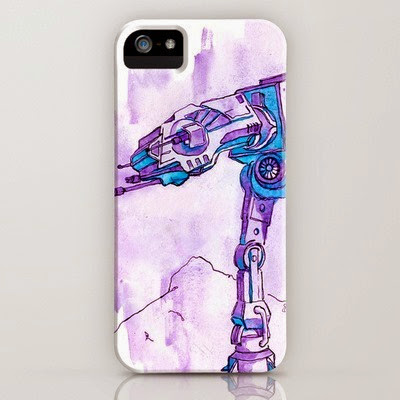 AT-AT Walker Phone Case from Yuminette on Society6