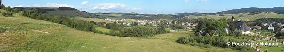 Panorama Tylicza - wschód